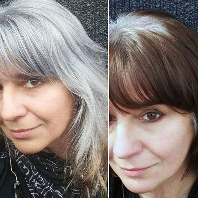 26 женщин, которые перестали красить волосы и позволили естественной седине взять верх