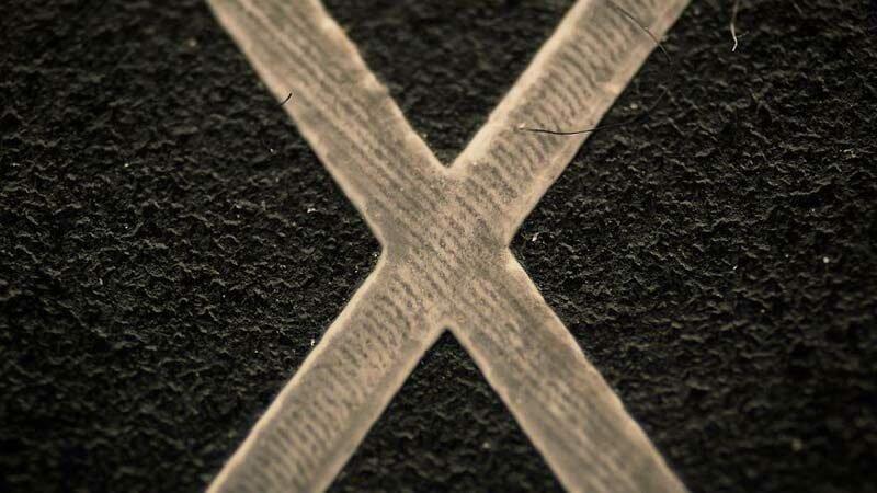 Клавиша «X» на компьютерной клавиатуре в мире, красота, макро, под микроскопом, познавательно, удивительно, фото
