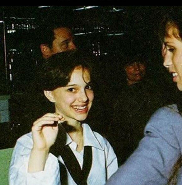 Натали Портман впервые, звёзды, молодые, фото, церемония