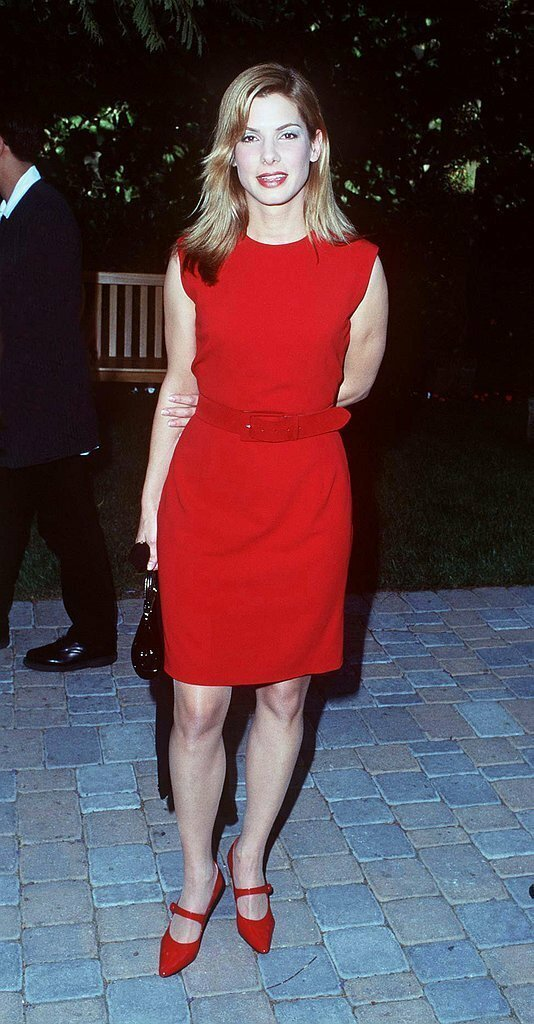 Сандра Буллок впервые, звёзды, молодые, фото, церемония