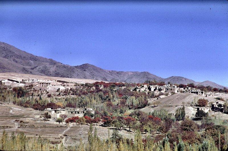 Живописный склон с домами в Кабуле афганистан, жизнь, кабул, мир, прошлое, фотография, фотомир