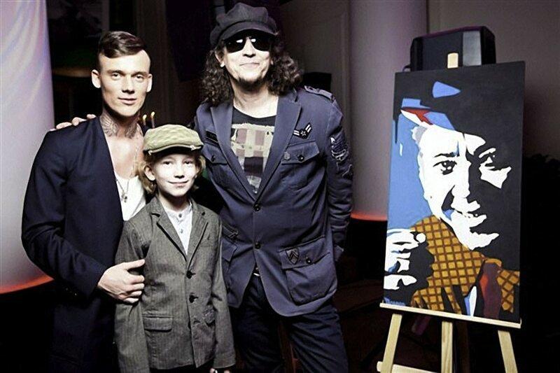 Сергей Галанин и сын Павел воспитание, дети, рок музыканты, сыновья, талантливые