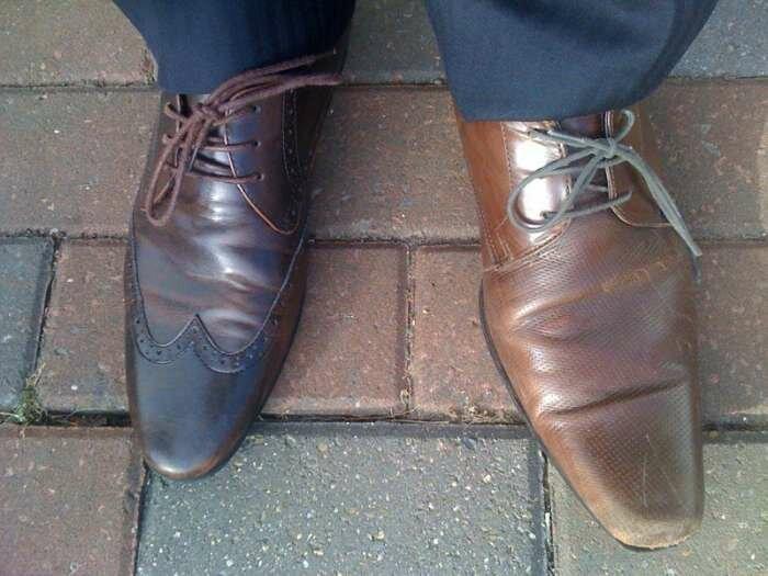 Согласитесь, очень похожие туфли курьезы, побудка, подборка, понедельник, работа, сон, утро, юмор