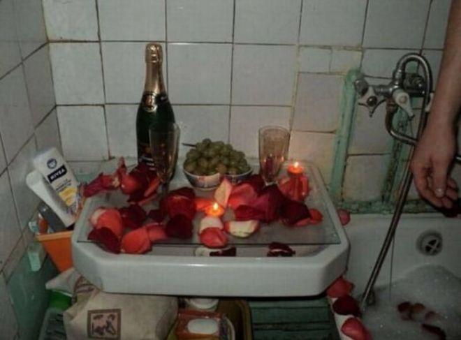 Только глупые и скупые не могут устроить своей любимой романтический вечер