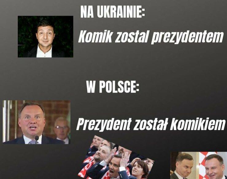 Тем временем на польских пабликах Зеленский, выборы, политика, президент украины, прикол, украина, шутки за 300