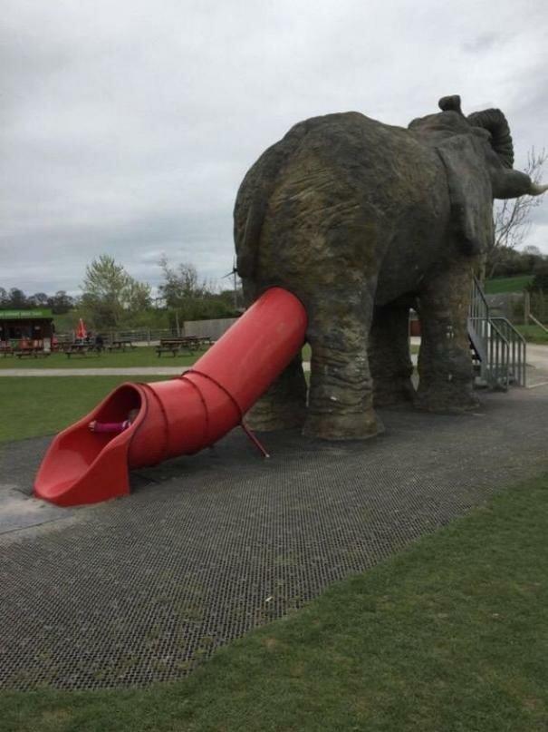 6. И слоник дети, детская площадка, казус, пошло, смешно, фрейд, юмор