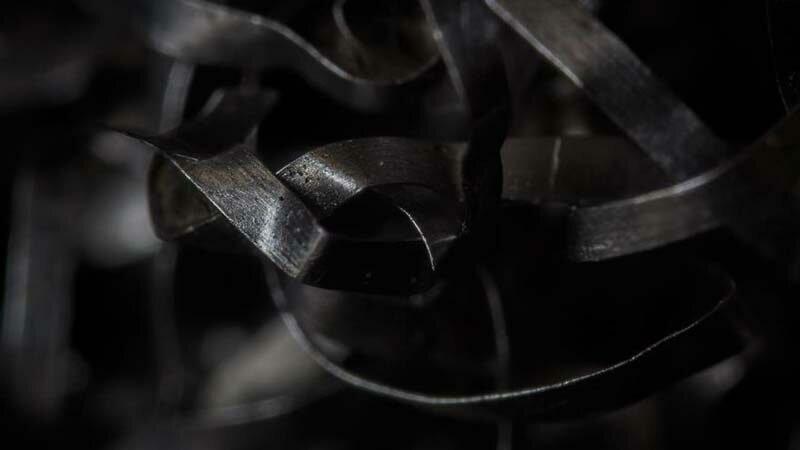 Металлическая губка в мире, красота, макро, под микроскопом, познавательно, удивительно, фото