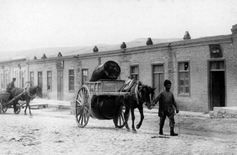 Перевозка керосина 19 век, жизнь до революции, редкие фотографии, снимки, фотографии, царская россия