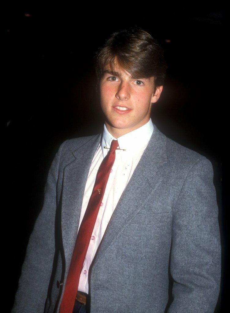 Том Круз впервые, звёзды, молодые, фото, церемония