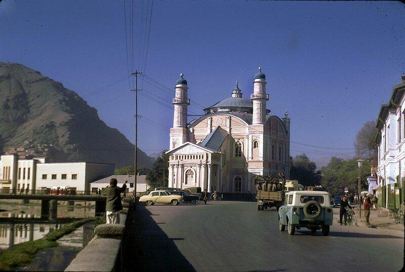 Мечеть Масджид-Шах-э-до Шамшира в Кабуле афганистан, жизнь, кабул, мир, прошлое, фотография, фотомир