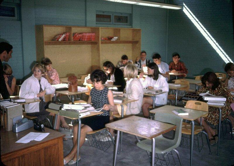 Класс в американской международной школе, где учились Пег и Джен афганистан, жизнь, кабул, мир, прошлое, фотография, фотомир