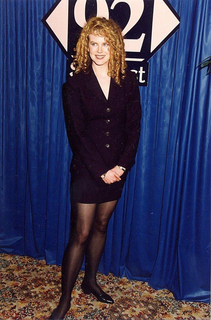 Николь Кидман впервые, звёзды, молодые, фото, церемония