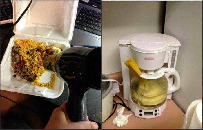 1. Студенческие кулинарные хитрости всегда отличались своим креативом Лайфхак, друзья, еда, общежитие, прикол, студенты, юмор