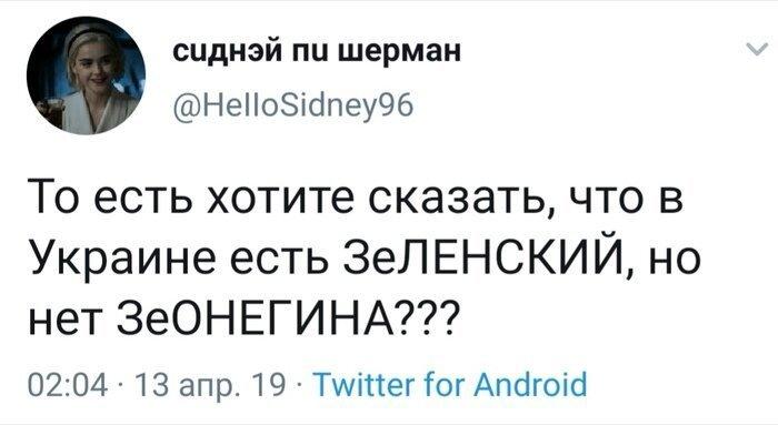ЗеОНЕГИН Зеленский, выборы, политика, президент украины, прикол, украина, шутки за 300
