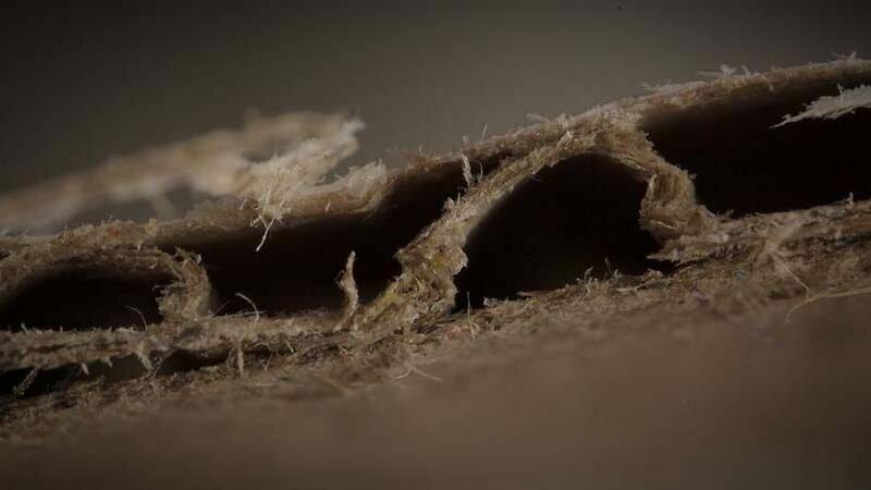 Гофрокартон в мире, красота, макро, под микроскопом, познавательно, удивительно, фото