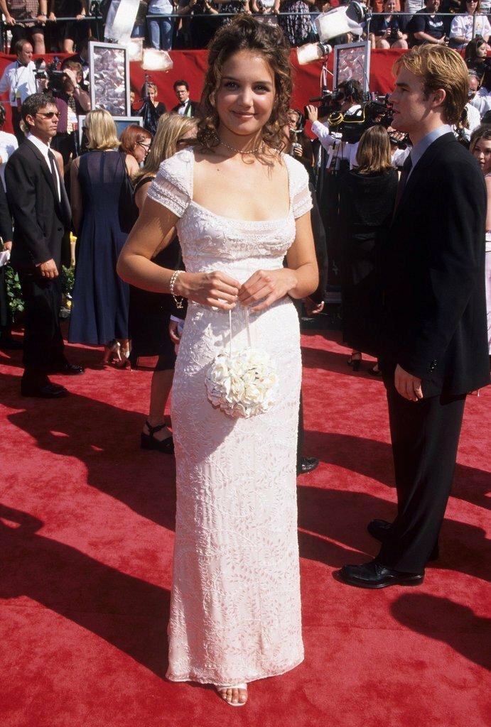 Кэти Холмс впервые, звёзды, молодые, фото, церемония