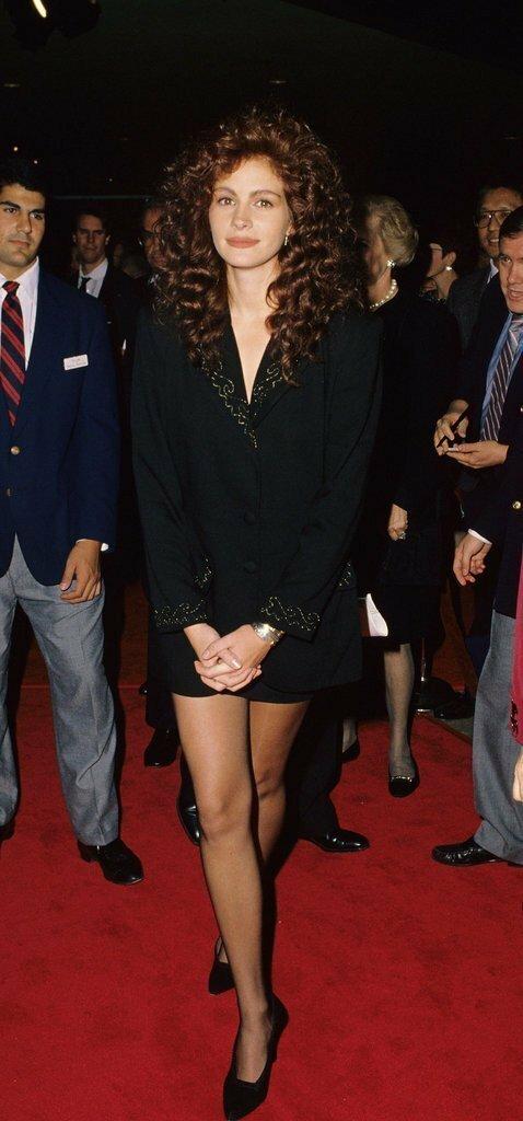 Джулия Робертс впервые, звёзды, молодые, фото, церемония