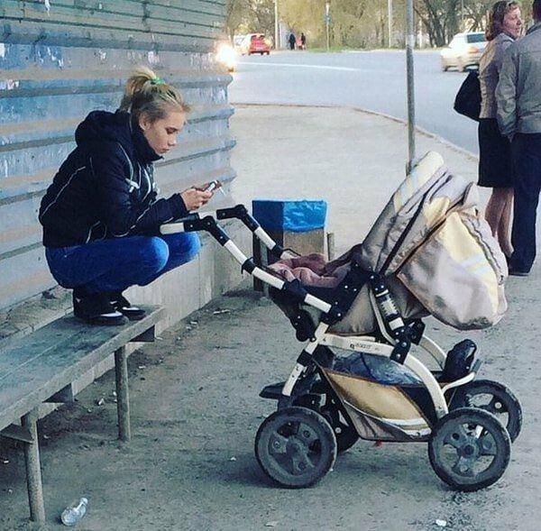 3. Поколение икс Я же мать, он же ребенок, прикол, смешно, соцсети, фото, яжемать