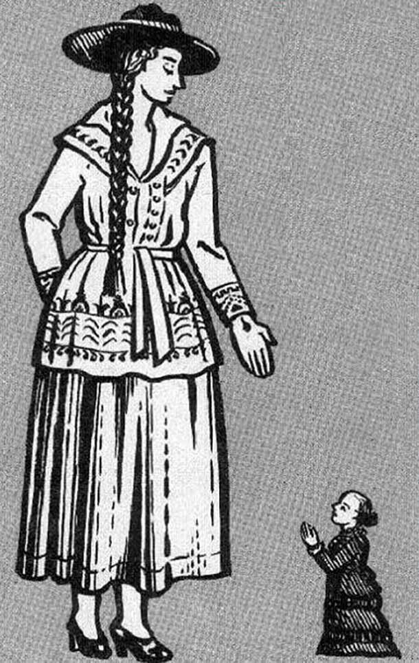22. Джейн Банфорд - 241 см великаны, высокие девушки, высокие люди, гиганты, познавательно, самые высокие, самые высокие люди в мире, факты