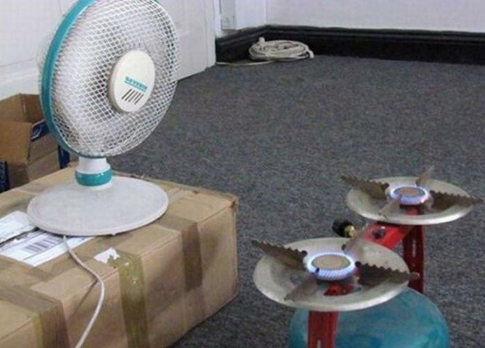 3. Может, отопление отключили? гении из народа, идиоты, народный умелец, оригиналы, прикол, смекалка, фото