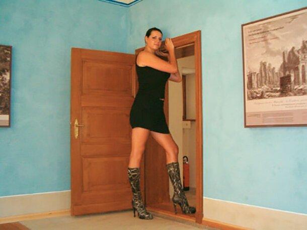 6. Кэролайн Велц - 205 см великаны, высокие девушки, высокие люди, гиганты, познавательно, самые высокие, самые высокие люди в мире, факты