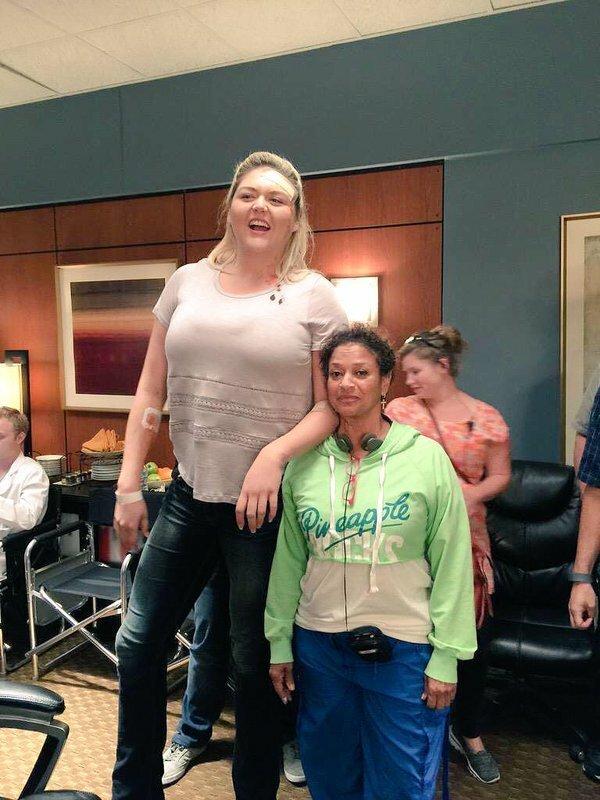 3. Линдсей Кей Хейворд - 203 см великаны, высокие девушки, высокие люди, гиганты, познавательно, самые высокие, самые высокие люди в мире, факты