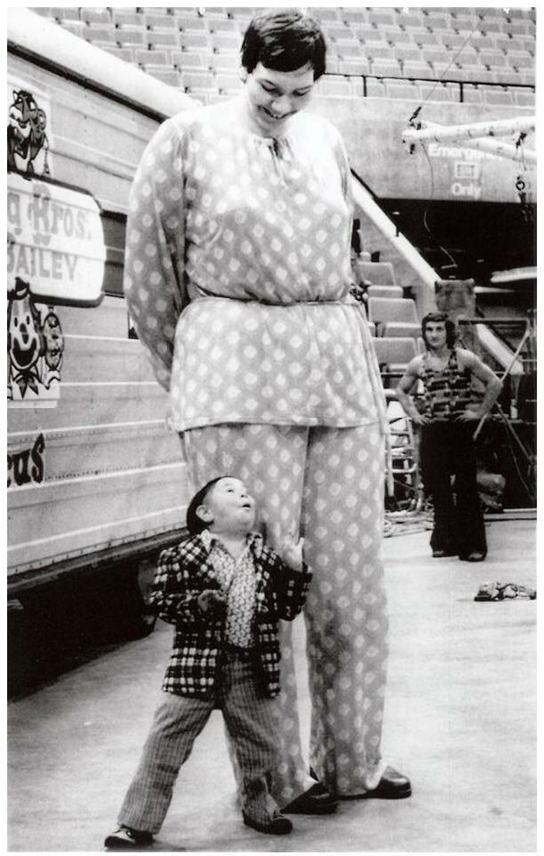20. Санди Аллен - 232 см великаны, высокие девушки, высокие люди, гиганты, познавательно, самые высокие, самые высокие люди в мире, факты