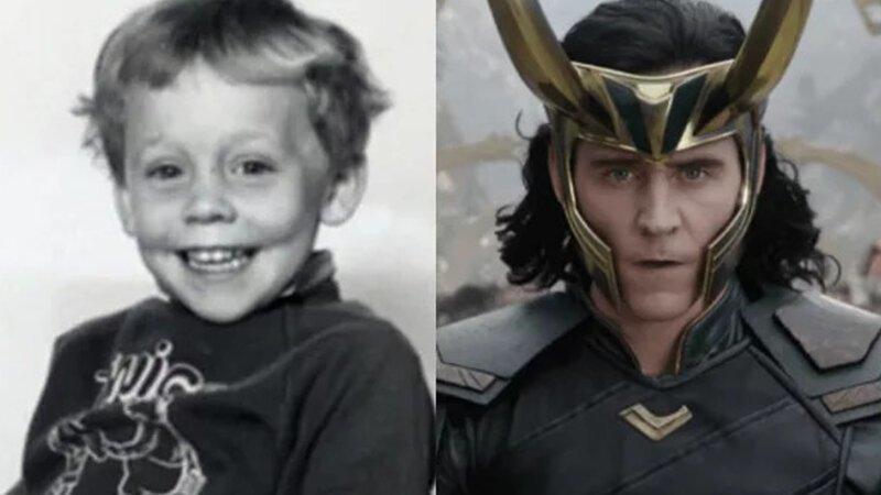 Локи – Том Хиддлстон Avengers Endgame, актеры в детстве и сейчас, детство звезд, марвел, мстители, супергерои