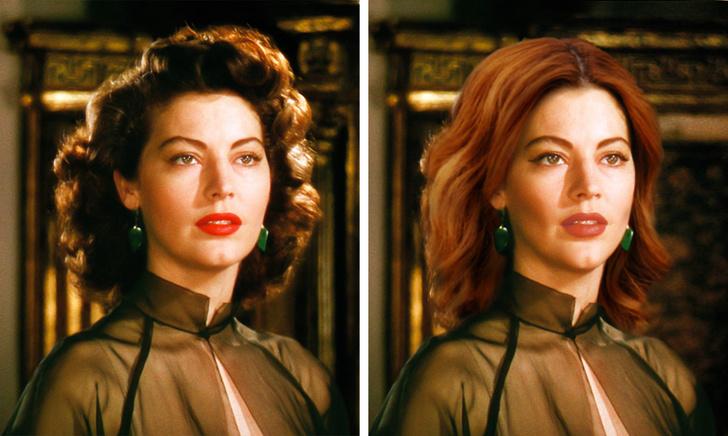 Как бы выглядели красавицы XX века в наше время. Вивьен Ли получилась красивее Анджелины Джоли