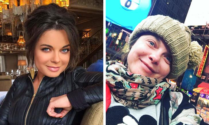18 российских знаменитостей, которые не стесняются фотографироваться без макияжа