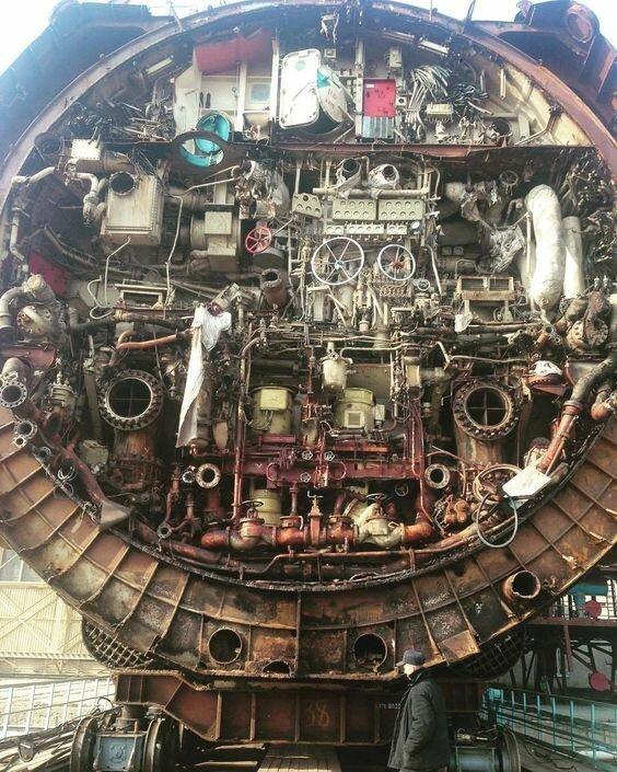 Подводная лодка в разрезе, вещи, другая сторона, интересное, факты