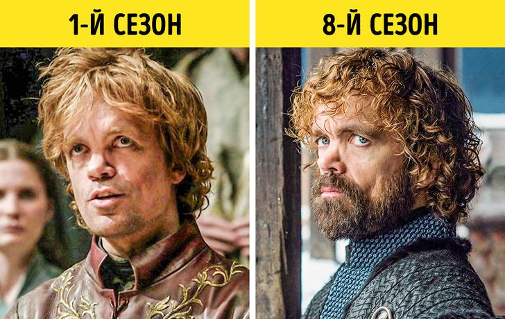 Посмотрите, как изменились герои «Игры престолов» за 8 сезонов
