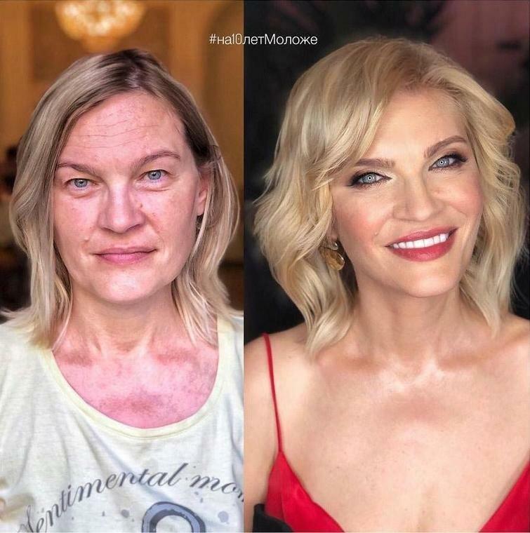 Стилист Евгений Жук доказал, что внутри каждой женщины живёт эффектная красавица Евгений Жук, девушки, до и после, красота, макияж, мейкап, стилист, фото