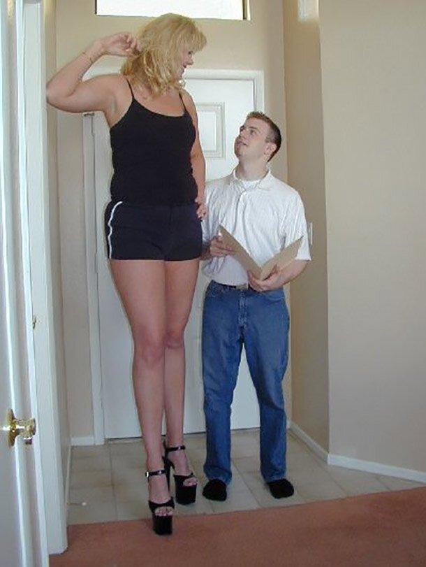 1. Хизер Грин - 197 см великаны, высокие девушки, высокие люди, гиганты, познавательно, самые высокие, самые высокие люди в мире, факты