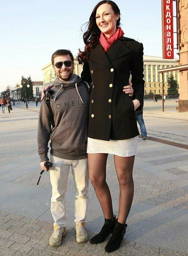 9. Екатерина Лисина - 210 см великаны, высокие девушки, высокие люди, гиганты, познавательно, самые высокие, самые высокие люди в мире, факты