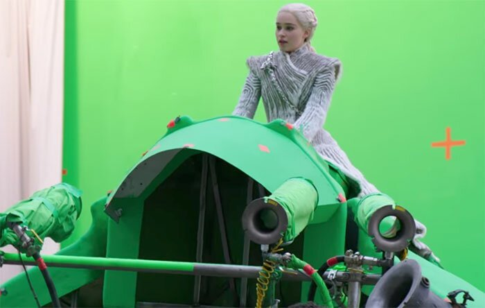 """Так вот ты какой, зеленый дракон! """"Игра престолов"""", На съемочной площадке, актеры, за кадром, интересно, кино, сериал, съемки"""