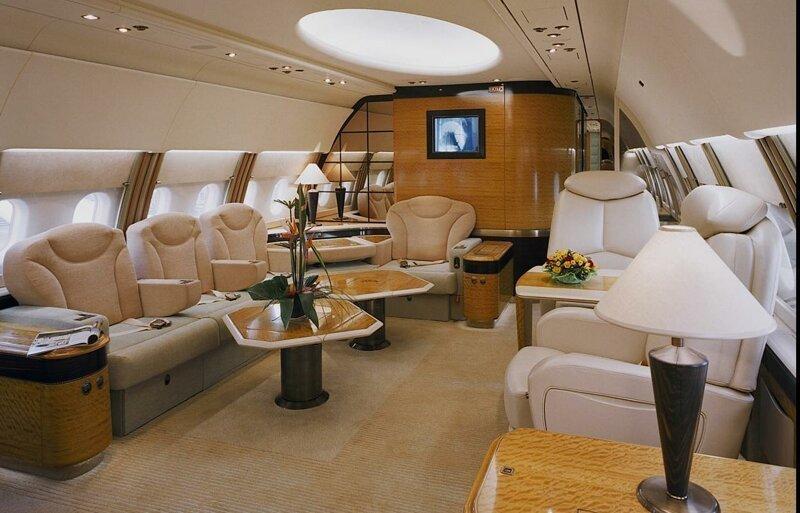 Конфиденциальность VIP самолёт, богачи, интересное, самолёт, стюардессы, фото, частный самолёт