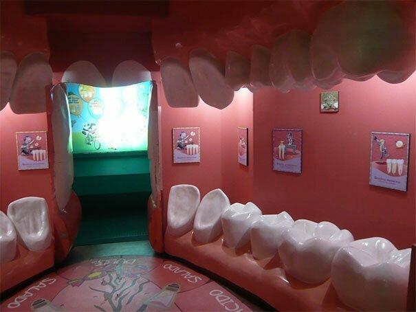 Приемная стоматолога. Бр-р-р! буйство фантазии, забавно, мастера, очумелые ручки, поделки, смешно, странные люди, удивительное рядом