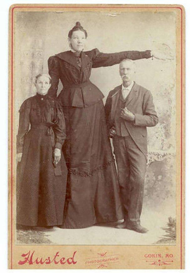 16. Элла Юинг - 224 см великаны, высокие девушки, высокие люди, гиганты, познавательно, самые высокие, самые высокие люди в мире, факты