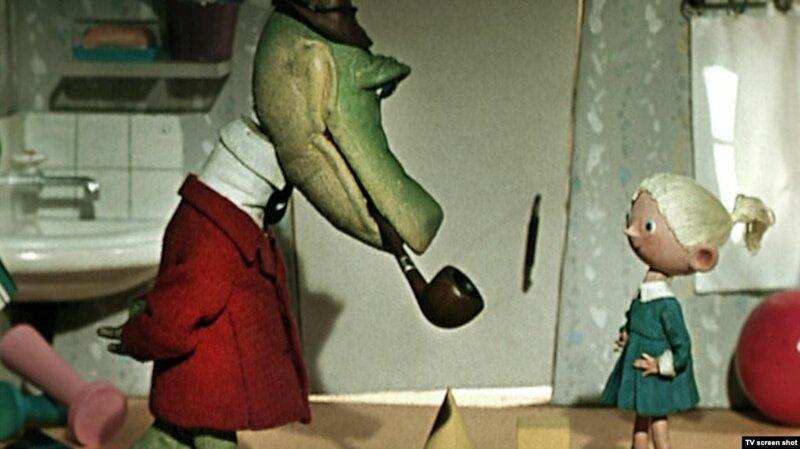 Крокодил Гена Ливанов, волк, история, карлсон, мультики, прообраз