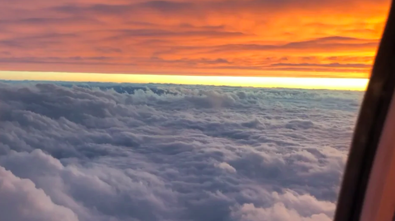 8. Кадр из самолета без фотошопа, идеально, красиво, фото