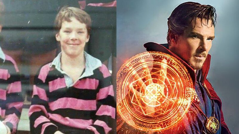 Доктор Стрэндж – Бенедикт Камбербэтч Avengers Endgame, актеры в детстве и сейчас, детство звезд, марвел, мстители, супергерои