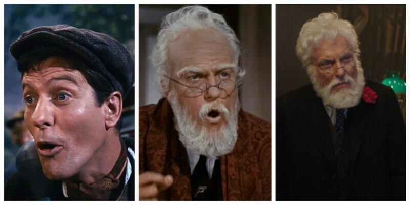 Дик Ван Дайк актёры, джонни депп, кино, назад в будущее, том хэнкс