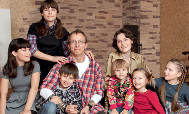 Иван Охлобыстин жена, заботливый, многодетный, отец, появился на свет, семья