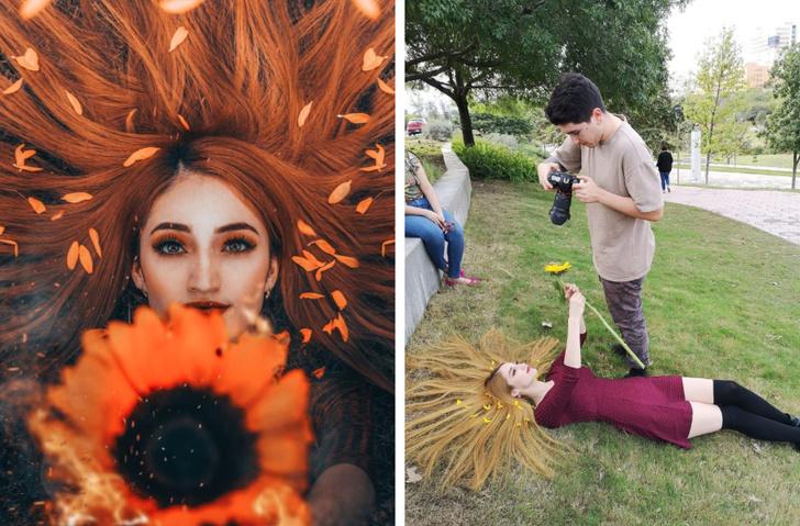 10 примеров на что готовы пойти пользователи соцсетей, чтобы получить идеальный снимок