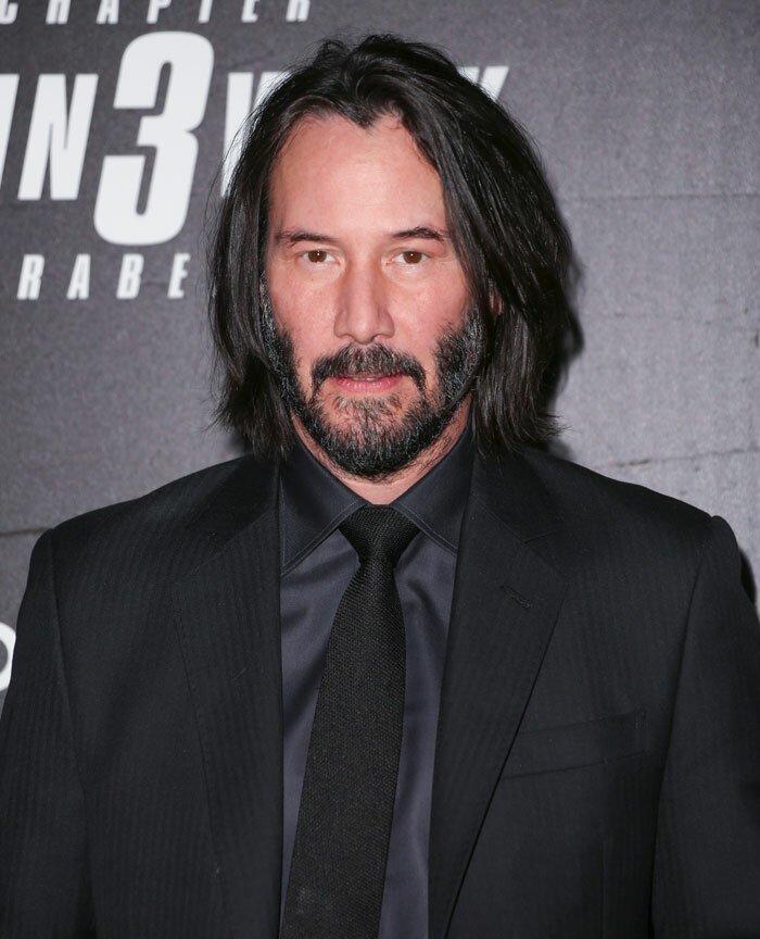 """54-летний актер признался в этом в интервью изданию Jakarta Post, сказав: """"В моей жизни никого нет"""" Киану, актер, актер кино, интервью, киану ривз, личная жизнь звезд, одиночество, признание"""