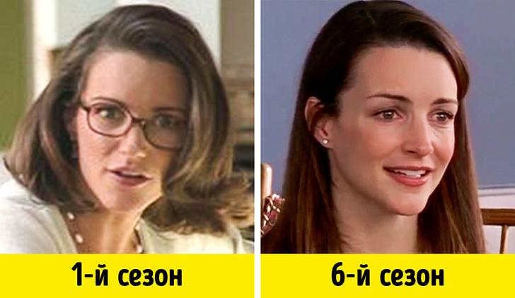 Как герои популярных сериалов изменились с момента первого появления на экране