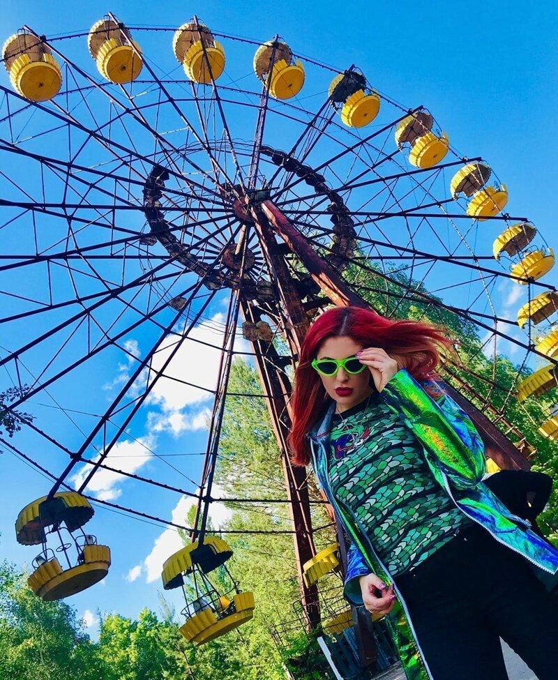 Припять: новомодное место для гламурных фотосессий Instagram, Припять, Чернобыль, возмущение, модно, фотосессии