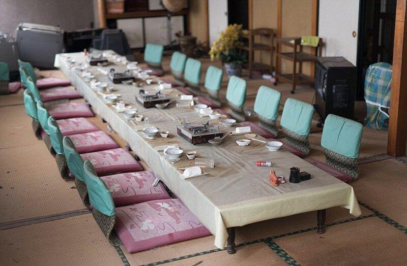 Ресторан АЭС Фукусима-1, аэс, зона отчуждения, катастрофа, последствия, фото, фотограф, фукусима