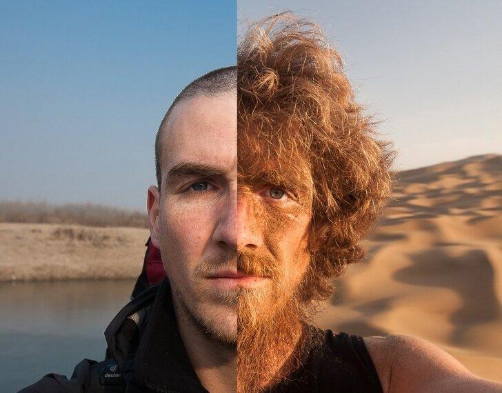 До и после интересно, красиво, фото